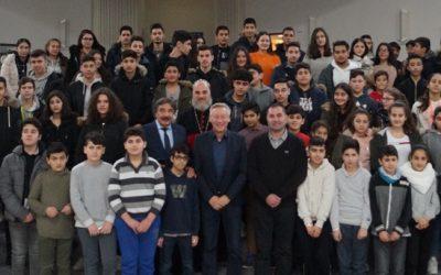 Hoher Besuch für syrisch-orthodoxe Schülerinnen und Schüler